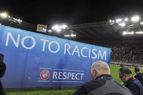 Racism in football